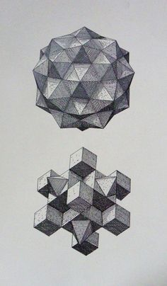 polyhedra studies by aleksandar bezinovic, via behance