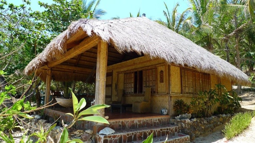 Pin On Wooden Bamboo House