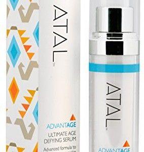 Anti Ageing Serum by ATAL - Best Anti Wrinkle Moisturiser - Stimulates Collagen - Powerful Antioxidants - Firms & Hydrates Skin - Effective Skincare Product for Women & Men - 1oz/30ml