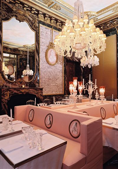 Fancy Dinner Party Crystal Room