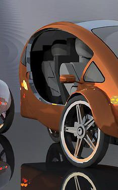 Is This Solar Powered Half Electric Bicycle With A Roof The Future Of Transportation Electric Bicycle Bicycle Power Bike