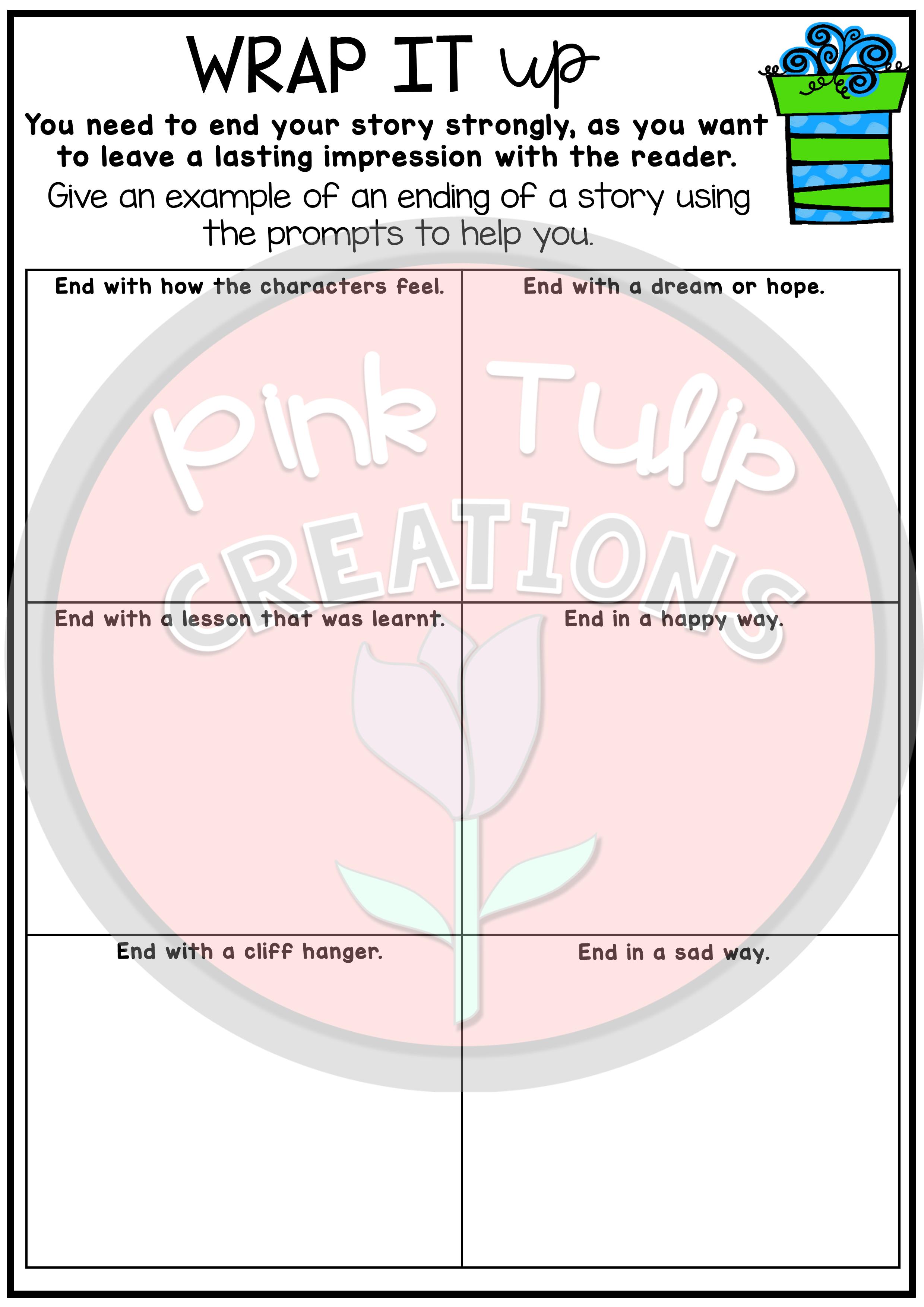 Narrative Writing Worksheet Pack - No Prep Lesson Ideas | Math games
