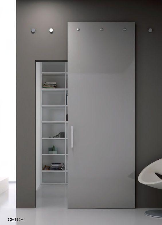 Porta scorrevole ad un 39 anta tutto vetro porte interne e divisori in vetro wardrobe doors - Decorazioni porte interne ...