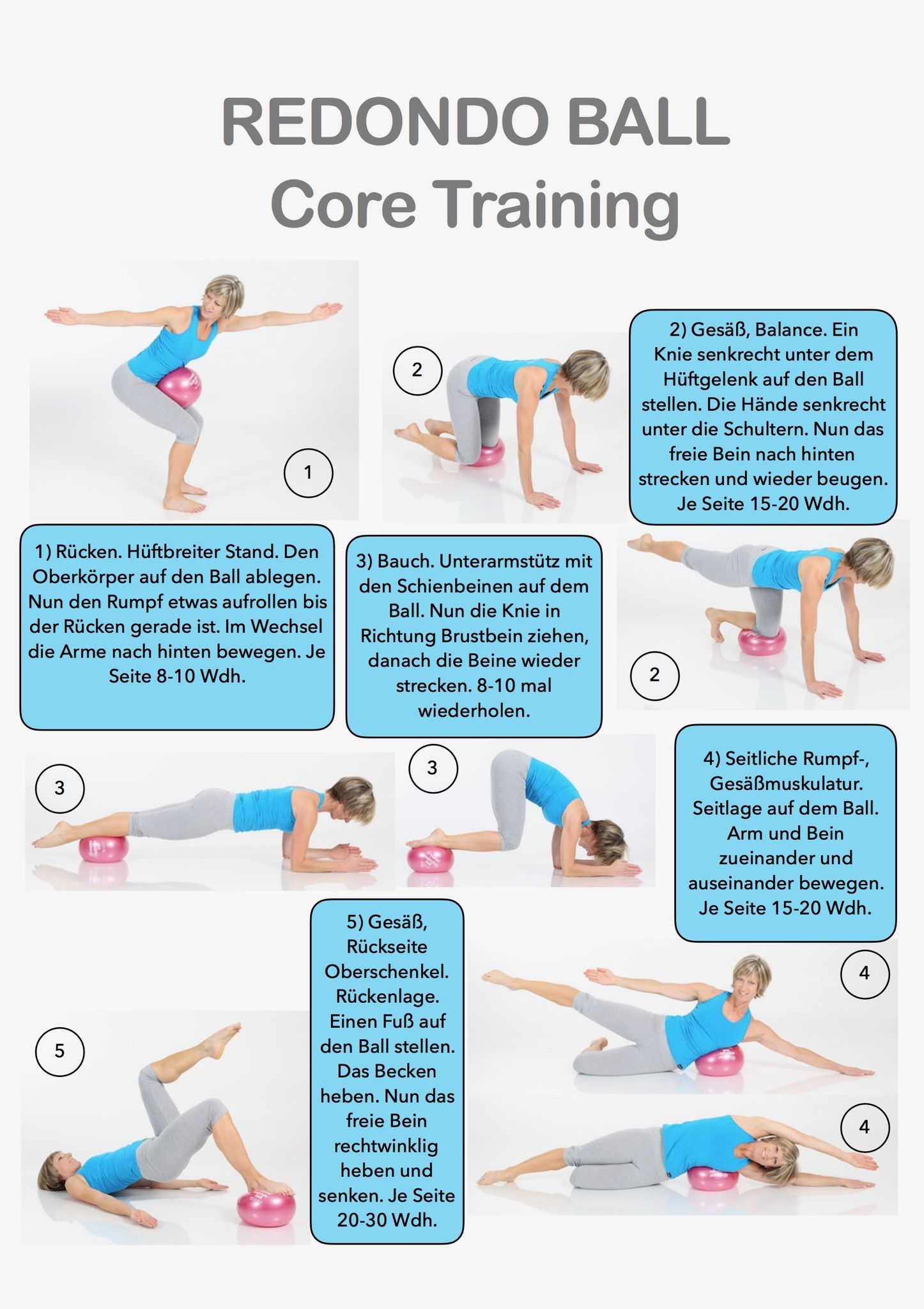 Pilates with ball - core training  0be1f36ce5eb