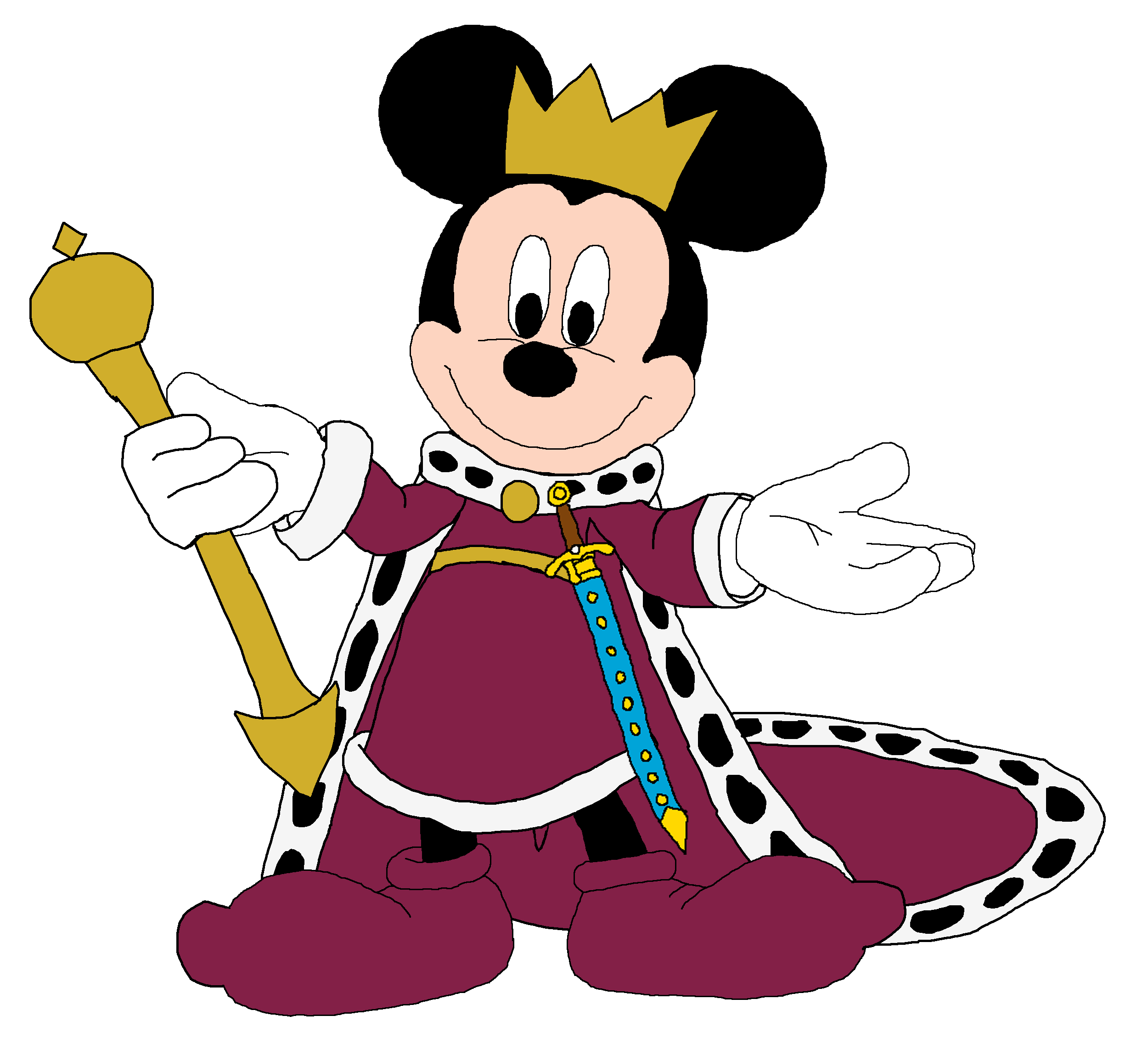 mickey as king arthur royal mickey and minnie pinterest king