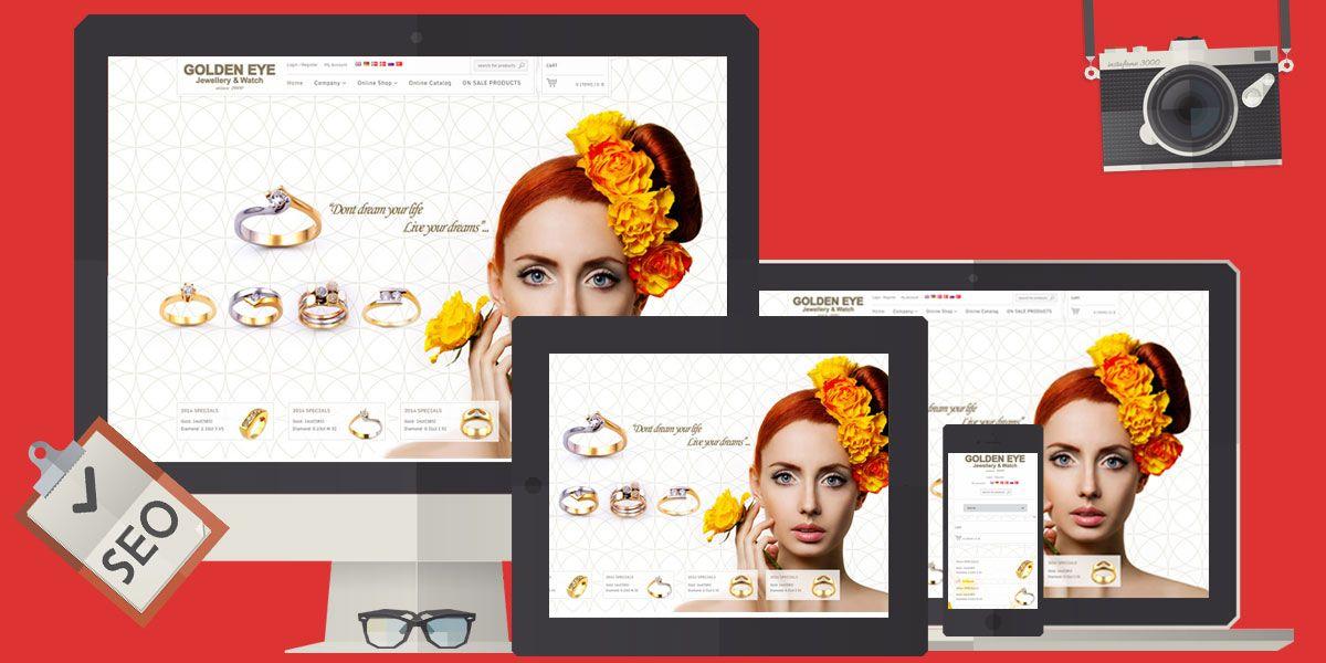 ETicaret Web Sitesi Kurmak Online Mağaza Kuyumculuk