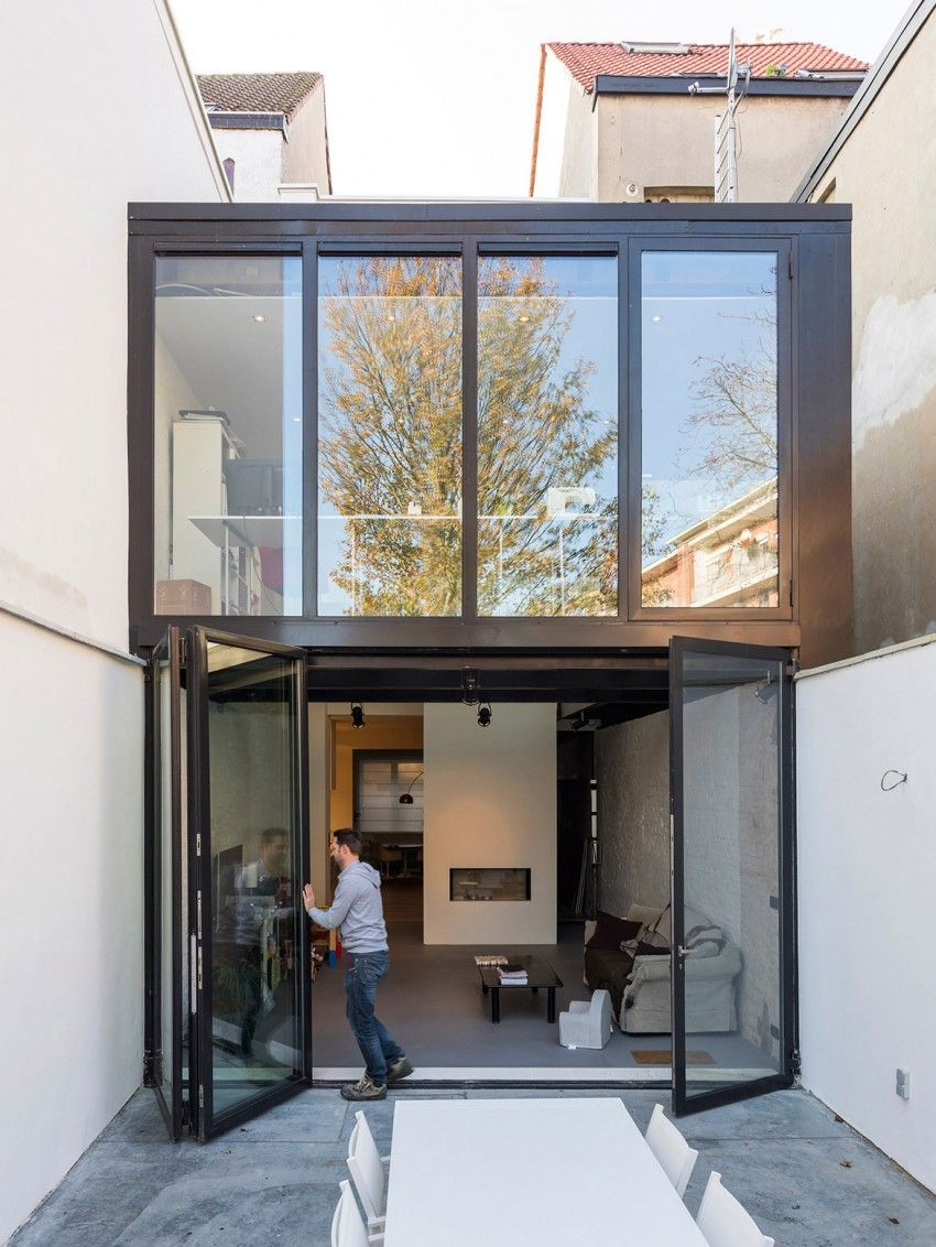 House box window design  folding box by sculpitarchitects  boxes by and architects