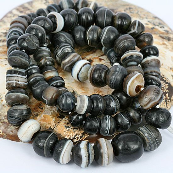 A kind of DIY long beads containing jade and agate