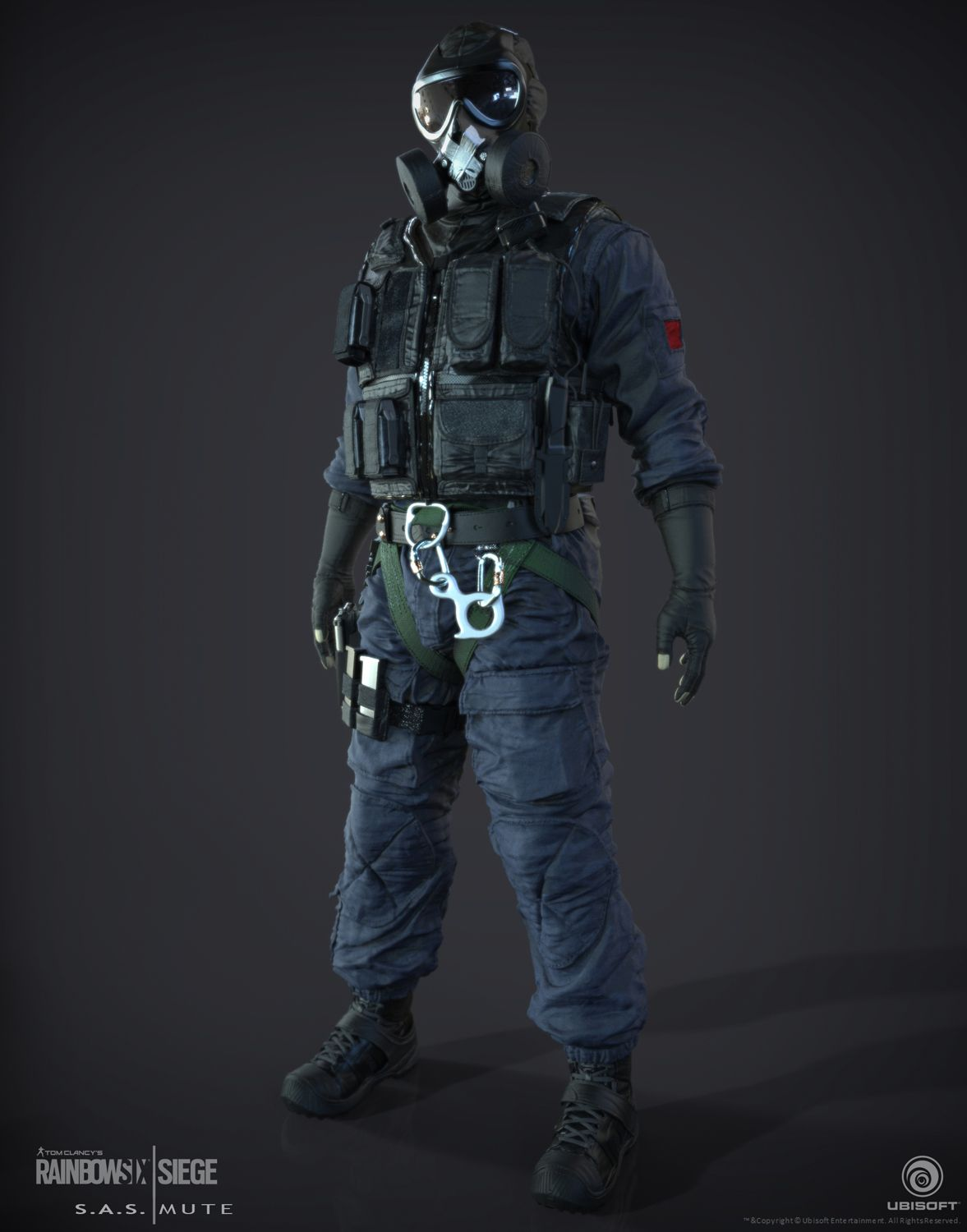 Default Mute Mute Sas Operator I Created From Tom Clancy S