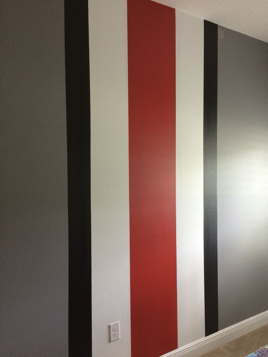Osu Room Sherwin Williams Rave Red Gray Shingle Satin Finish Boy Room Paint Bedroom Wall Paint Room Paint