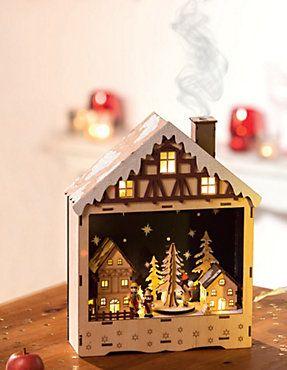 Weihnachtsdeko Bei Weltbild.Räucherhaus Mit Spieluhr Christmas Decoration Weihnachtsdeko
