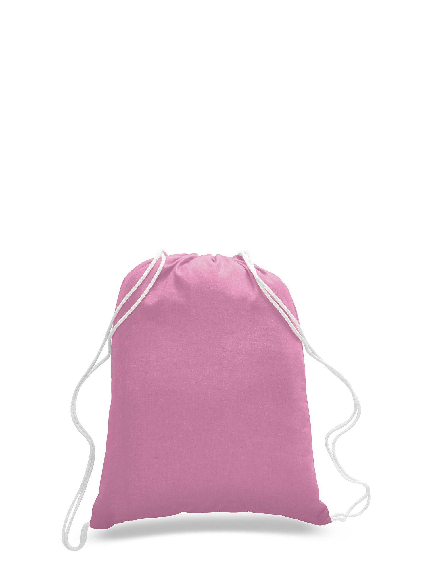 5fb6539c307 100% Cotton Budget Friendly Sport Promotional Drawstring Bag
