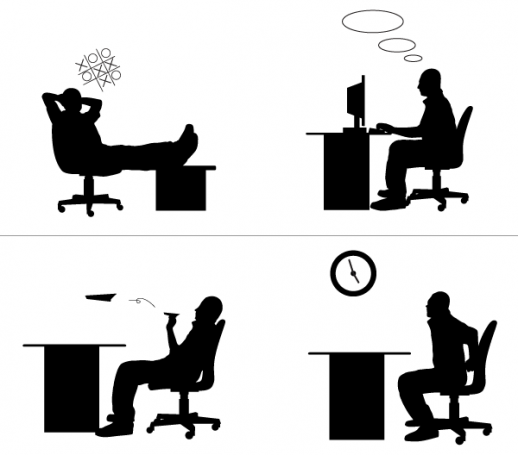 l88643-free-office-people-silhouettes-3551.png (518×455 ...
