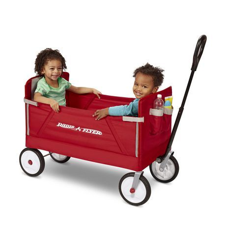 Radio Flyer 3 In 1 Ez Fold Wagon Red In 2019 Products Folding