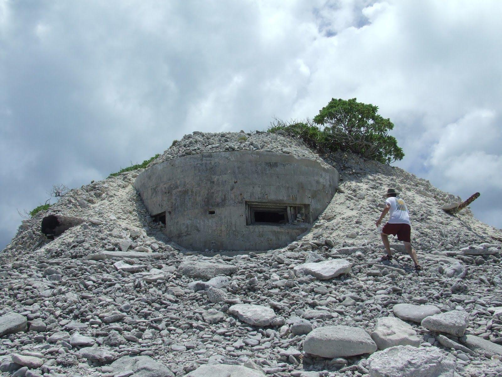 Wake Island Japanese Bunker