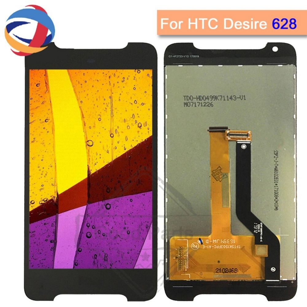 5.0 Inch For HTC Desire 628 LCD Touch Screen Display Digitizer 1280*720 Mobile Phone Replacement For HTC D628 Display Free Ship #touchscreendisplay