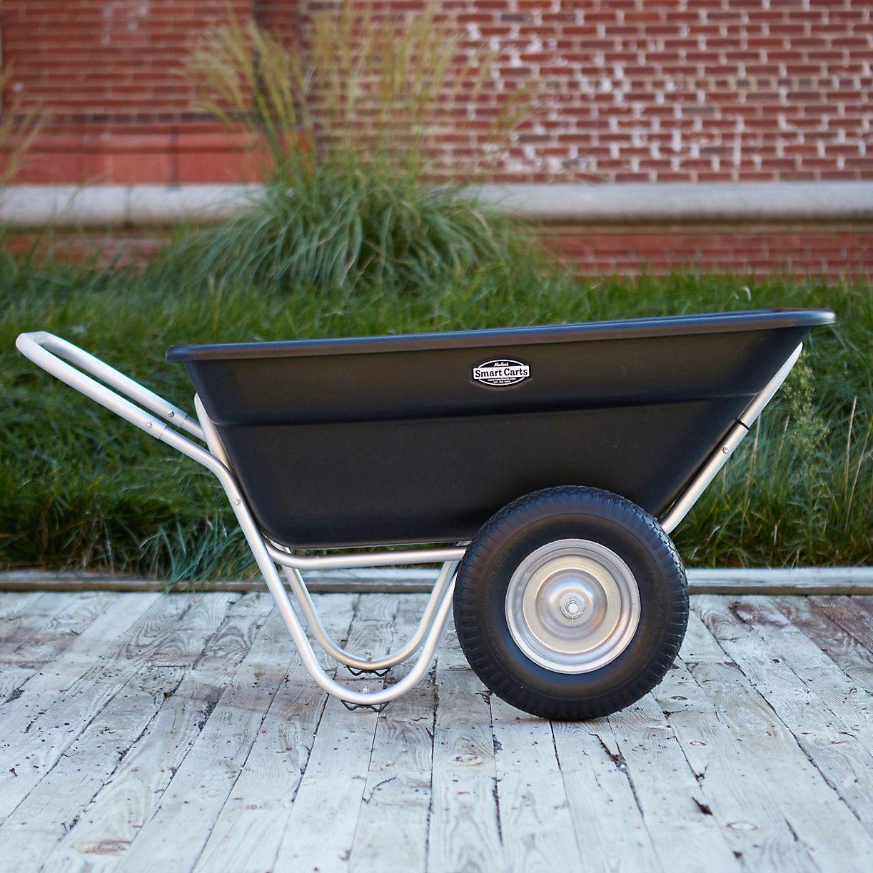 Charmant Merveilleux Two Wheel Garden Cart