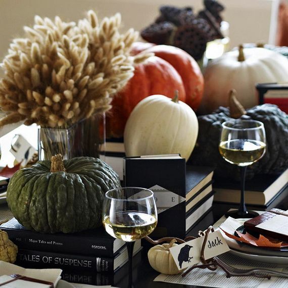 Modern Halloween Centerpieces Ideas Source   wwwstylisheve - halloween centerpiece