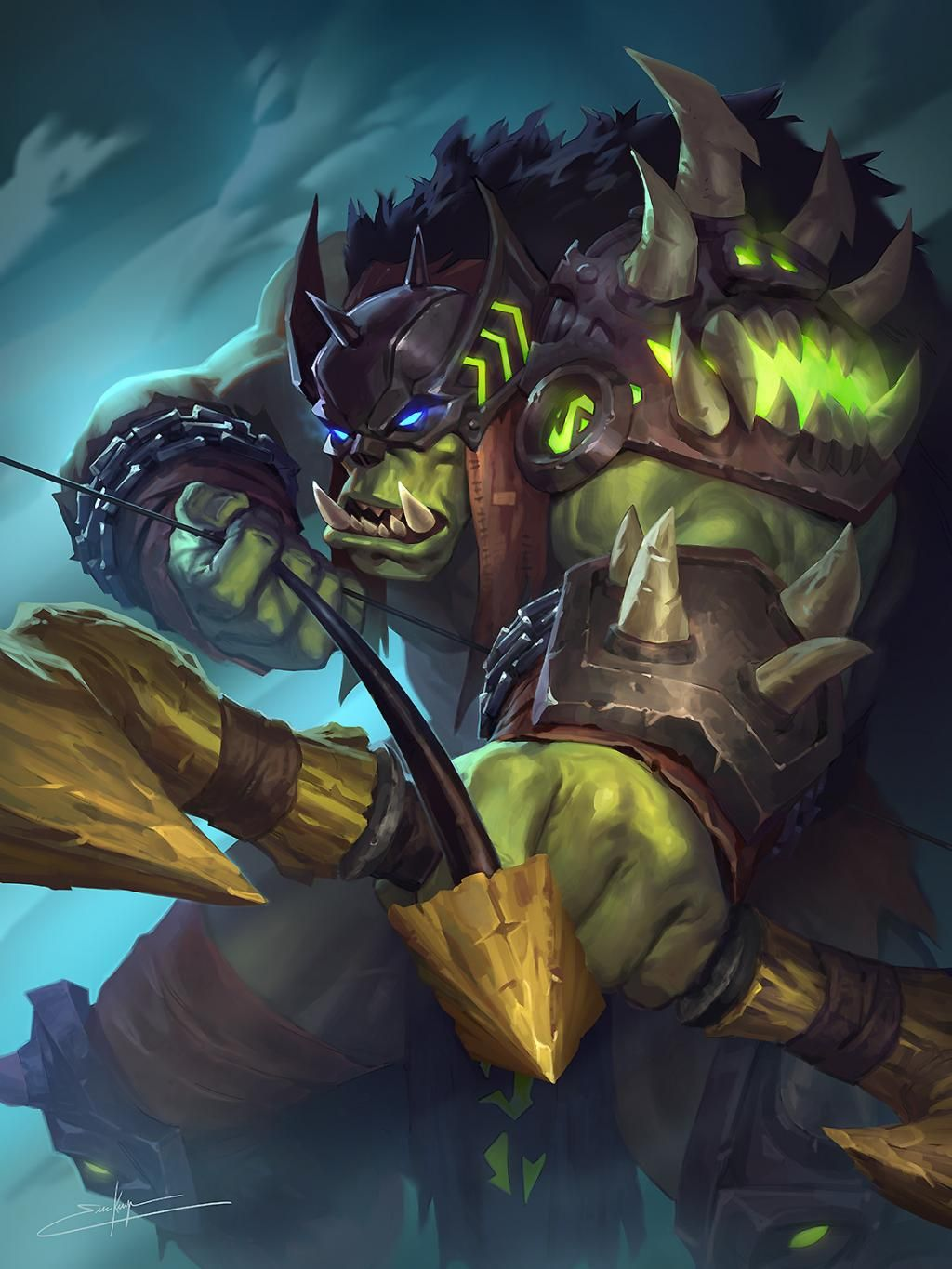 Let's share our favorite Warcraft fan-art! - Page 308