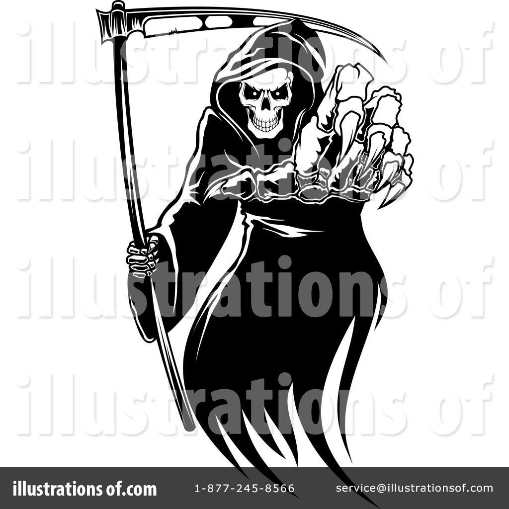 small resolution of grim reaper clipart vector 17