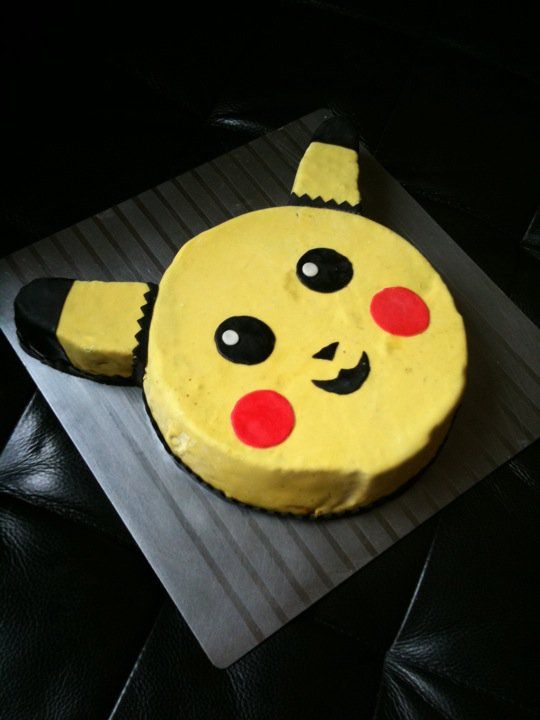 Pokemon cake.      For Eric