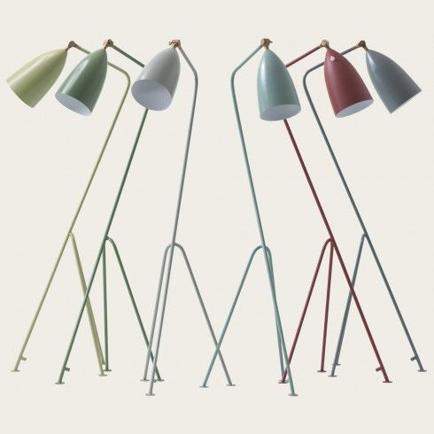 Chelsea Textiles Grashoppa Floor Lamp I Love These I Want A Navy One For My Kitchen Lampen Vloerlamp Verlichting