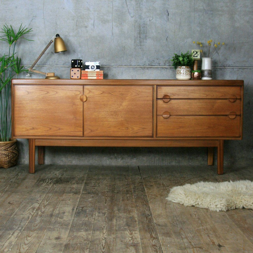 Vintage Nathan Sideboard Mid Century Nathan Teak Sideboard Furniture Teak Sideboard