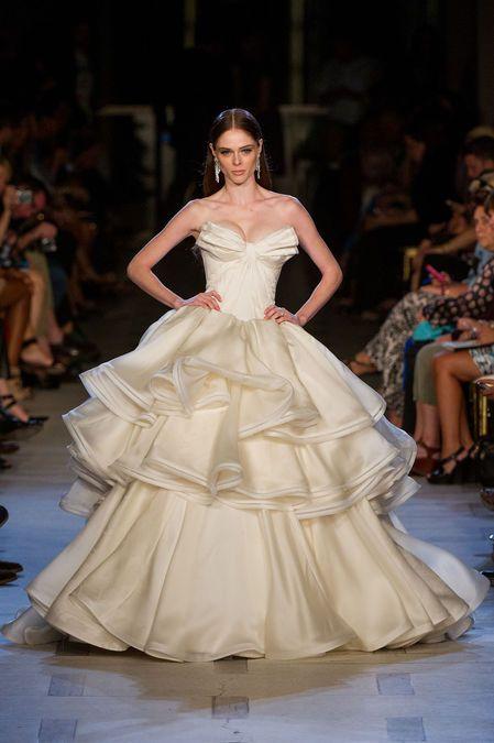 alta calidad originales diversificado en envases Bardot fishtail gown   Colecciones   Zac posen, Vestidos de ...