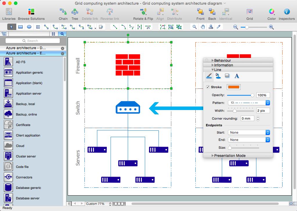 Microsoft Azure Architecture Solution Diagram