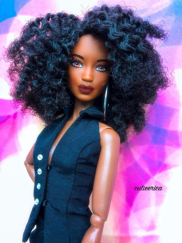 Natural Hair Model Beautiful Barbie Dolls Original Barbie Doll
