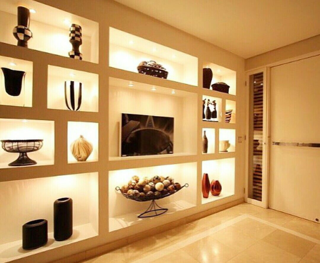 Pin by Leny Gomex on mueble sala con divisiones | Pinterest | Wall ...