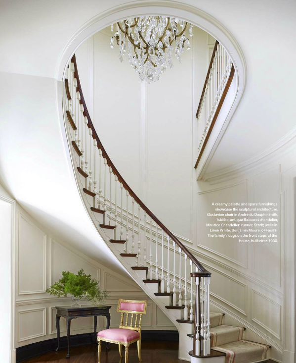 Beautiful Front Hall And Staircase: DESIGN IN CASTLEBURY (Splendid Sass