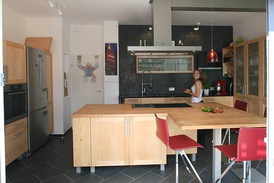 Küchen Adrian ~ Ahornküche in der bauhausvilla mit melanie massivholzküchen