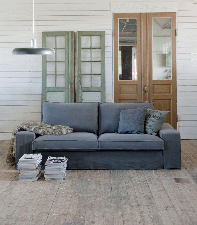 Les Canapés IKEA Shabillent De Housses Style Vintage Signées Bemz - Canapé 3 places pour décoration de chambre d adulte