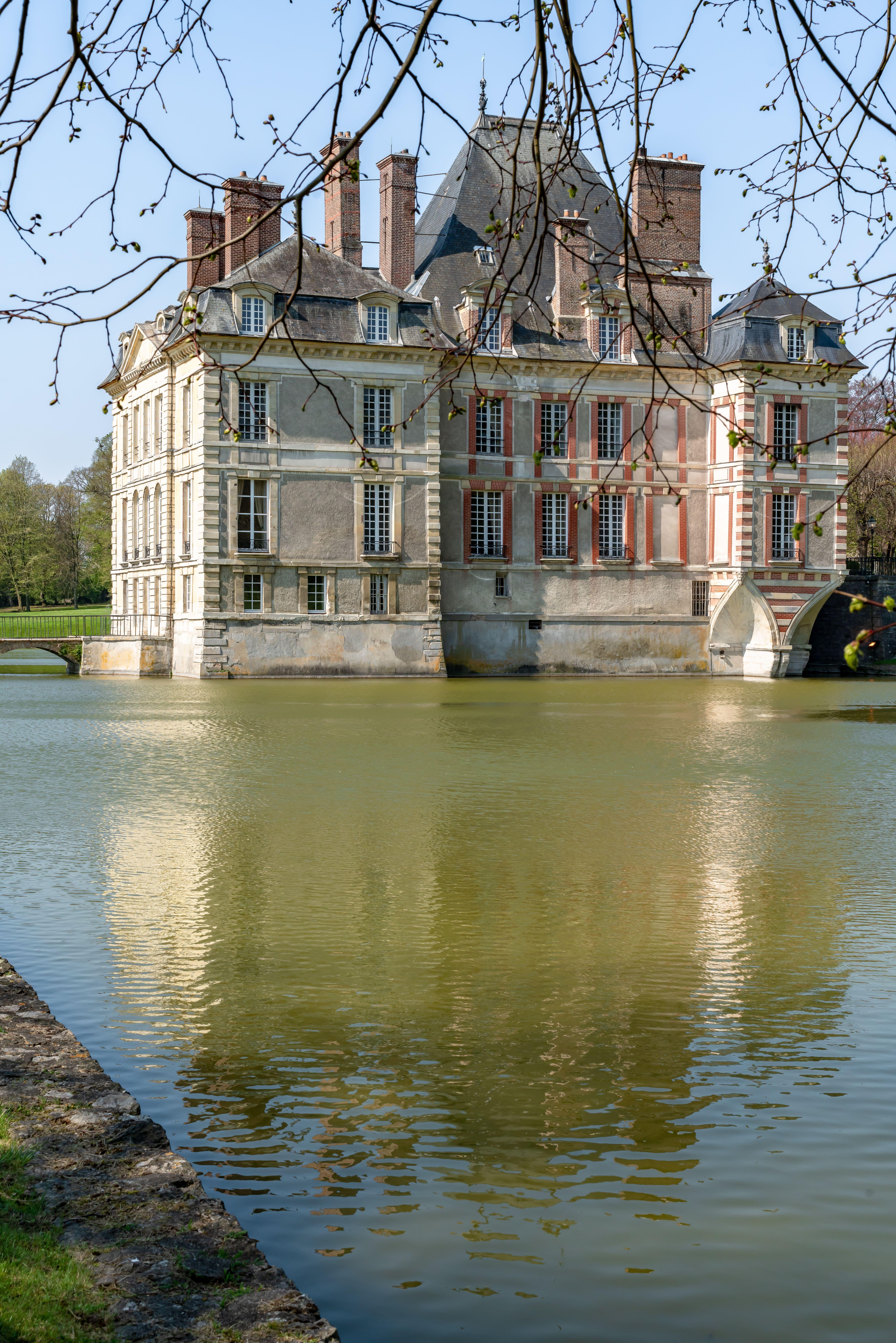 Chateau En Ile De France : chateau, france, Beaux, Châteaux, D'Île-de-France, Visiter, Château,, France,, Chateaux, France