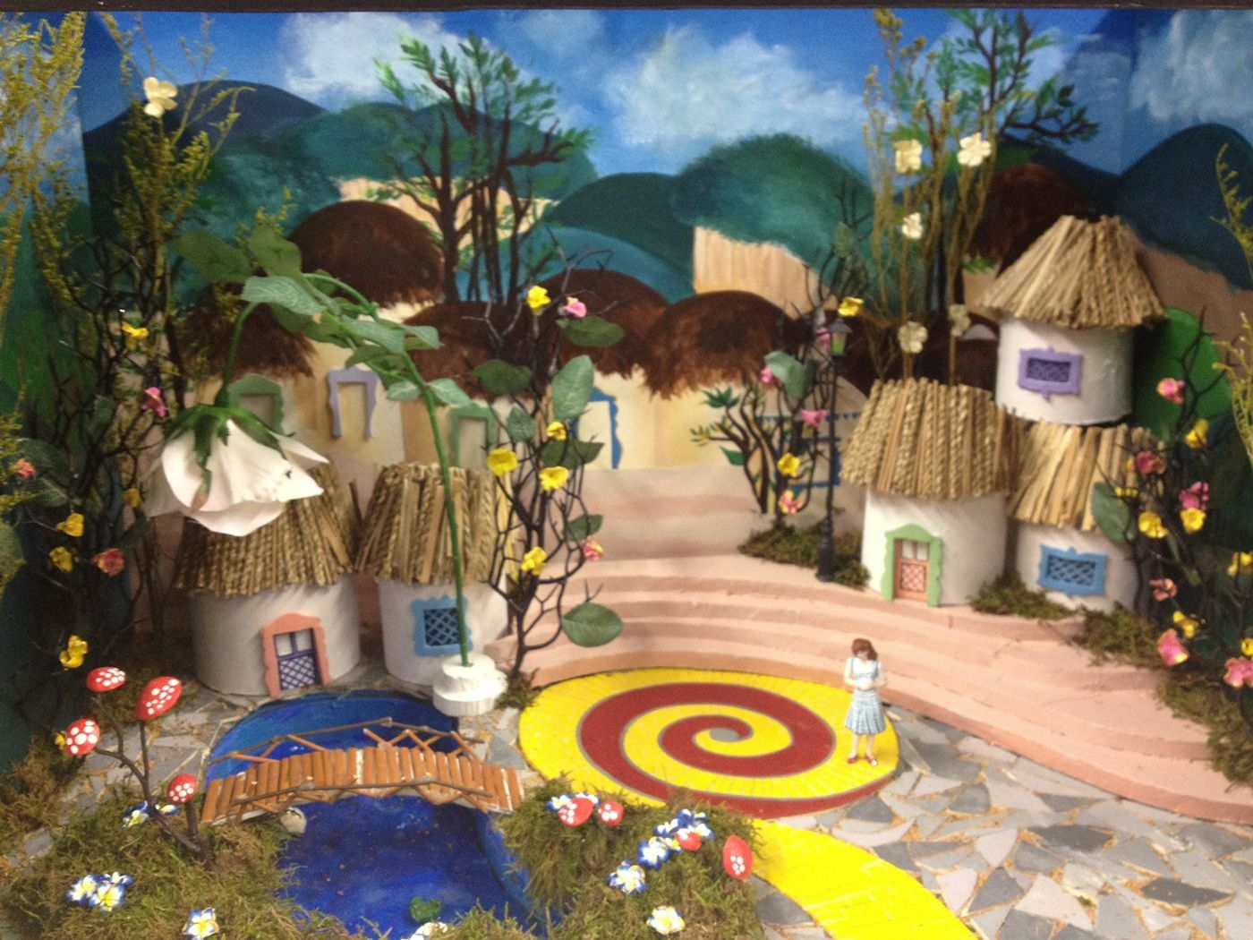 Freelance set design model of the iconic movie Wizard of