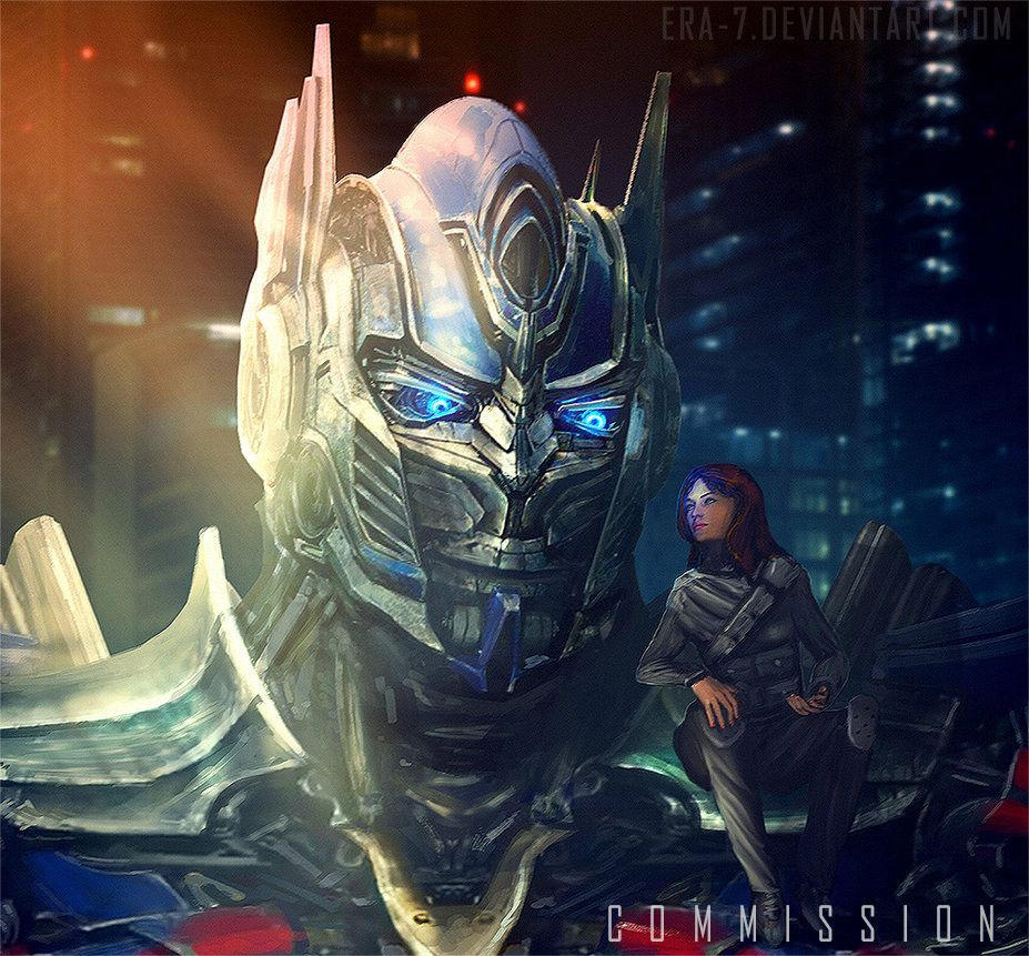 TFAOE: Optimus Prime and Siris - COMMISSION by ERA-7S on ... | 927 x 861 jpeg 154kB