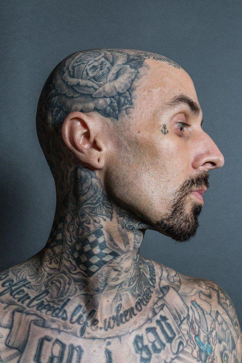 travis barker tattoos - 736×1104
