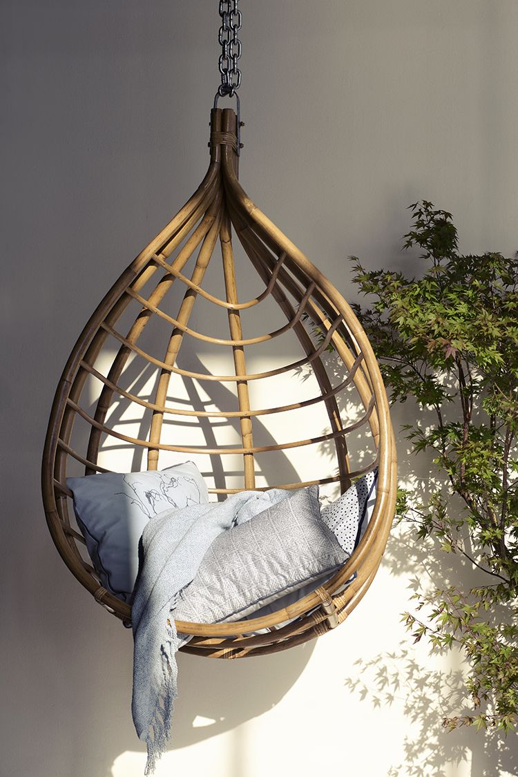 Rattan hanging chair outdoor in pinterest hanging chair