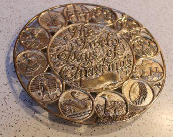 Christmas Silver Plated Metal