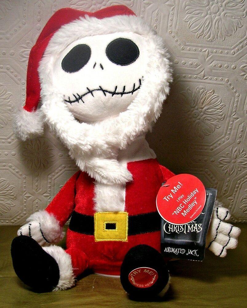 Nbc Christmas Musical 2020 Disney Nightmare Before Christmas Santa Jack Animated Musical SEE