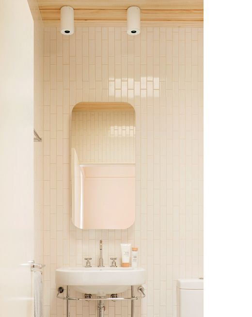 "Bathroom Mirrors Melbourne bathroom at clare cousins' home. ""she runs her own super busy and"