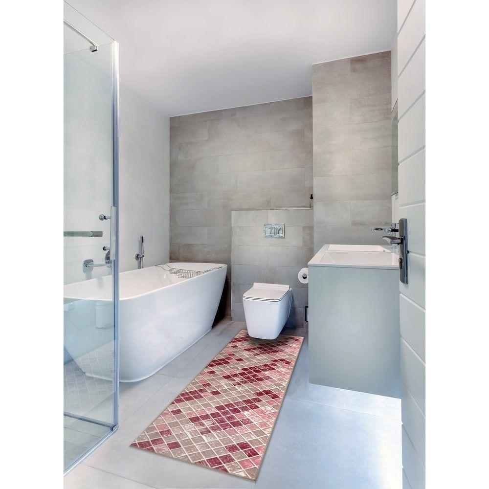 Bath 1 Set 24x60 Newruz Print Mat Absorbent Soft Kitchen Floor Area Rug Non Slip Carpet Red Beige 2 X 5 Beige Red In 2020 Floor Area Rugs Bath Rug Stylish Rugs [ 1000 x 1000 Pixel ]