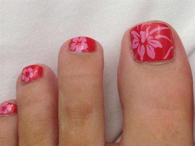 tropical beach flowers chandelle