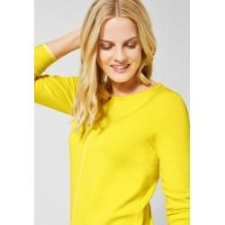 Photo of Cecil – Basic Pullover in Fresh Yellow Cecil