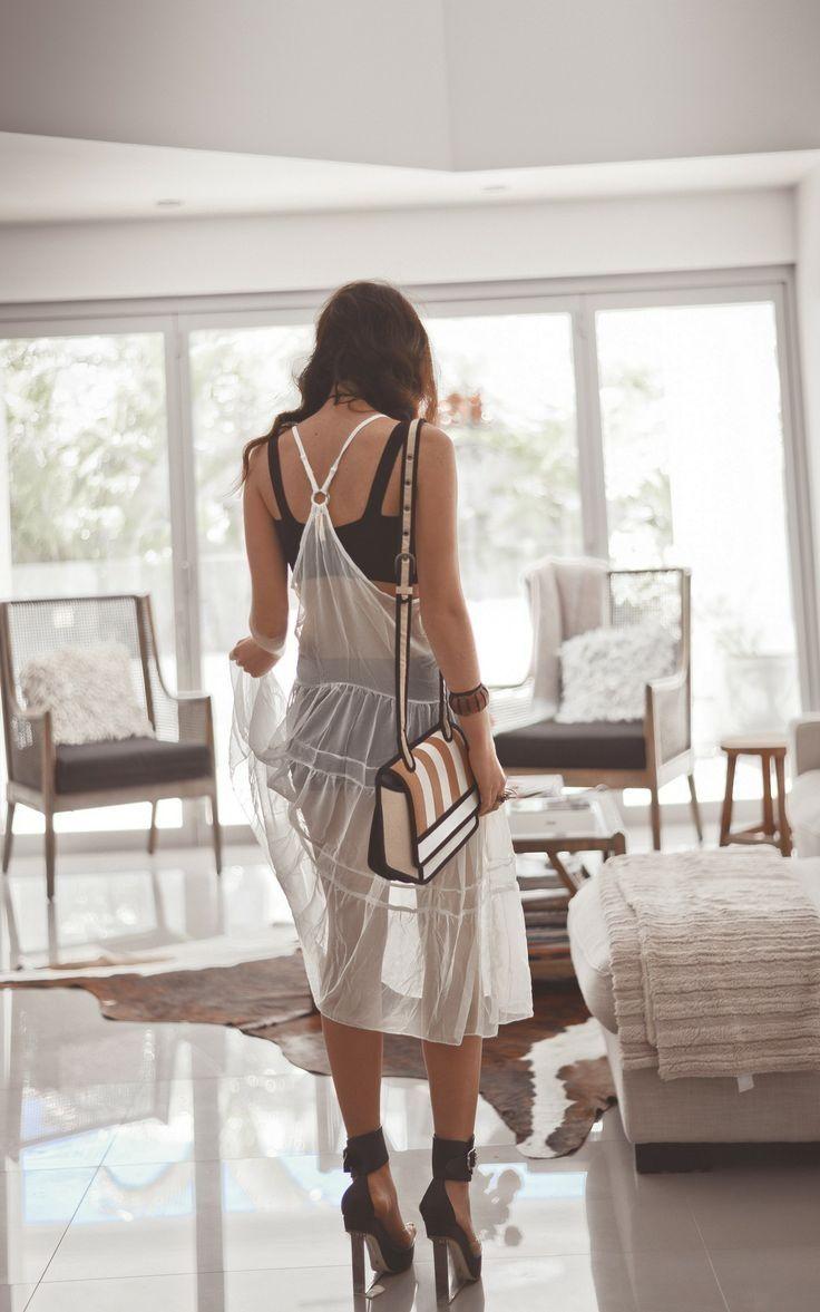 Honeymoon Fashion Inspiration: The Sheer White Dress – Part I