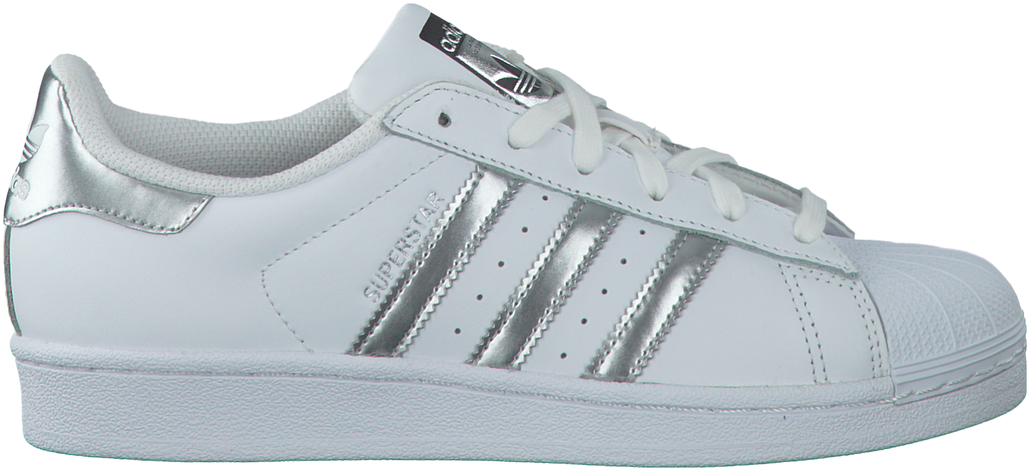 Witte ADIDAS Sneakers SUPERSTAR DAMES | Sneakers, Adidas ...