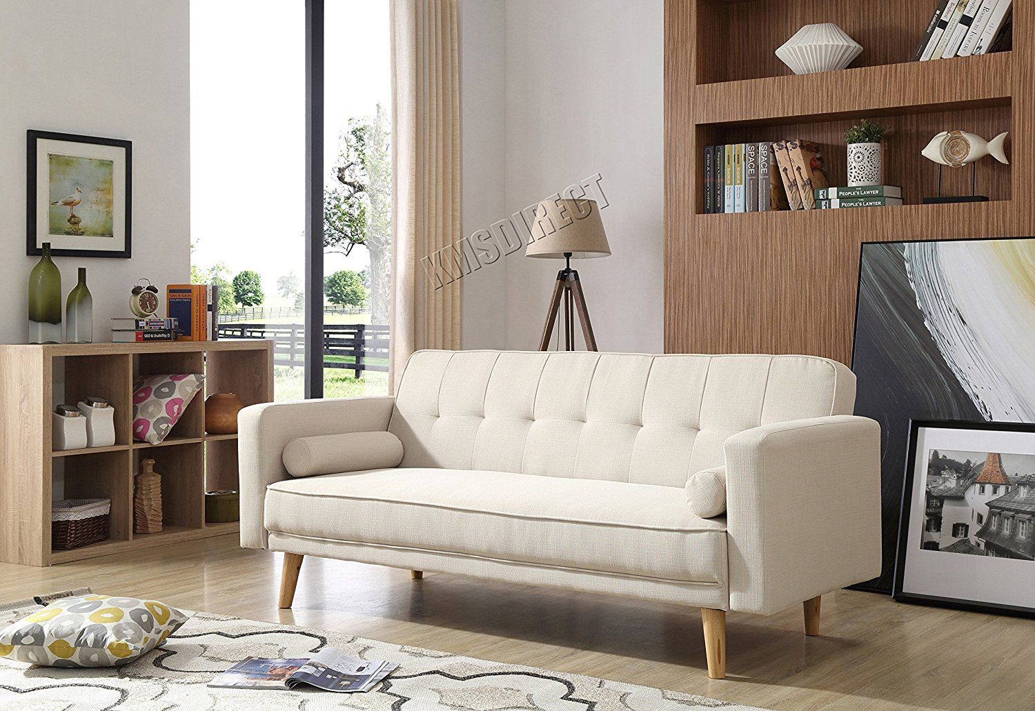WestWood Fabric Sofa Bed Recliner Couch 3 Seater With 2