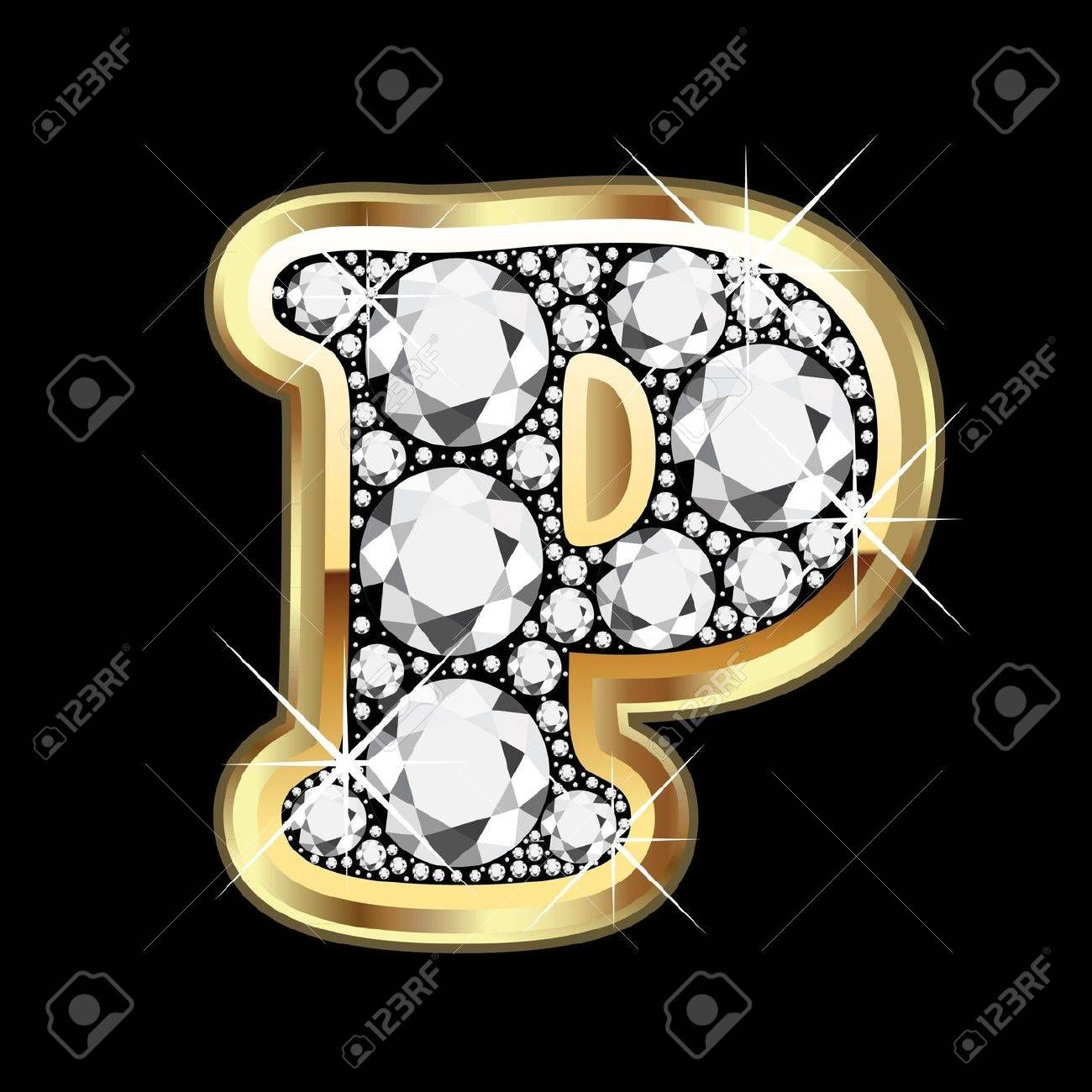 5d54aa3a2fb Stock Vector | Monogram Alphabets | Creative lettering, Diamond ...