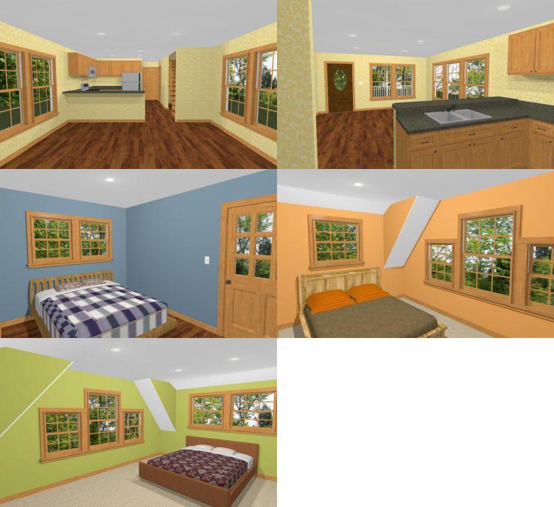 16x40 House -- #16X40H1 -- 1,193 Sq Ft